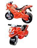 Мотоцикл 2-колесный с сигналом, красный, русская озвучка, 501в 3 Красный, купить