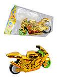 Мотоцикл, 3 цвета, 1824-1, отзывы