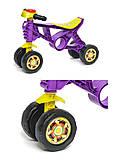 Мотоцикл Беговел-2, фиолетовый, Орион , 188 Фиол, детские игрушки