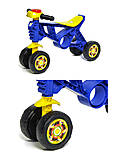 Мотоцикл Беговел-2, синий, Орион , 188 Синий, toys