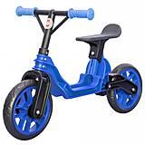 Мотоцикл беговел (байк) детский, синий, 503 СИНІЙ, набор