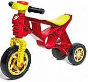 Мотоцикл «Беговел» красный, 171 Красный, набор