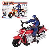 Мотоцикл «Captain America», C109, интернет магазин22 игрушки Украина