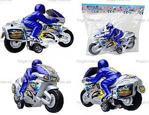 Инерционный игрушечный мотоцикл, CZ730