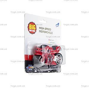 Мотоцикл гоночный, инерционный, 10784-8618C, фото