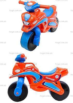 Мотоцикл-каталка детская «Полиция», 0139540