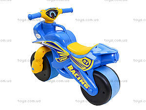 Мотоцикл-каталка «Спортивный байк», синий, 013910, купить