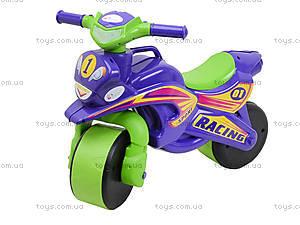 Детский мотоцикл-каталка «Спорт», фиолетовый, 013960, фото