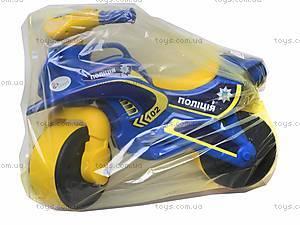 Мотоцикл-каталка для детей «Байк», синий, 013957, игрушки