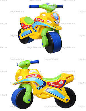 Мотоцикл-каталка для детей «Спорт», зеленый, 013950
