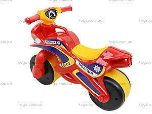 Мотоцикл-каталка «МотоБайк», красный, 013956, купить