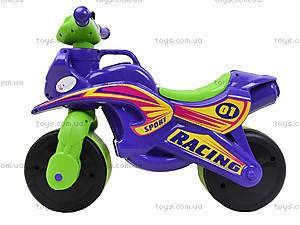 Детский мотоцикл-каталка «МотоБайк», фиолетовый, 01396, отзывы