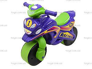 Детский мотоцикл-каталка «МотоБайк», фиолетовый, 01396, цена
