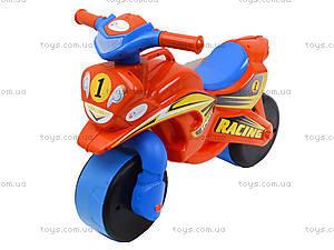 Мотоцикл-каталка для детей «МотоБайк», красный, 01392, отзывы