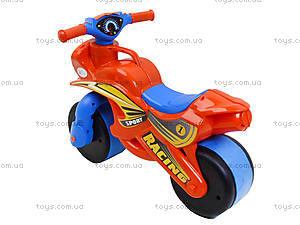 Мотоцикл-каталка для детей «МотоБайк», красный, 01392, цена