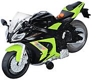 Мотоцикл Kawasaki Ninja ZX-10R со светом и звуком, 33411, фото