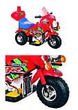 Мотоцикл - игрушка синего цвета, M-026-B, купить