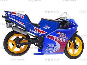 Игрушечный мотоцикл, металлический, XY028, фото