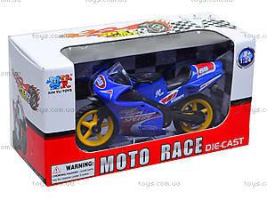 Игрушечный мотоцикл, металлический, XY028, цена