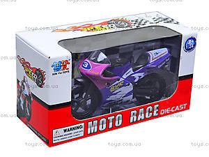 Игрушечный мотоцикл, металлический, XY028, toys