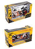 Мотоцикл металло-пластик 2 цвета (HX797), HX797, отзывы