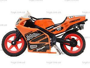 Мотоцикл металлический Moto Race, XY027, магазин игрушек