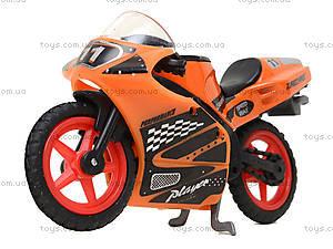 Мотоцикл металлический Moto Race, XY027, toys.com.ua