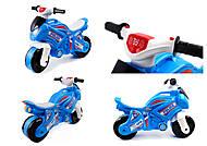 Мотоцикл музыкальный «Полиция» Технок, 5781, купить