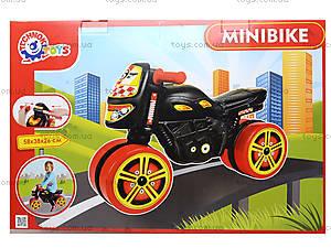 Каталка мотоцикл «Мини-байк», 4098, фото