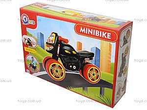 Каталка мотоцикл «Мини-байк», 4098, магазин игрушек