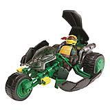 Мотоцикл «Стелс» с фигуркой Рафаэля, 94001, купить
