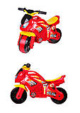 Мотоцикл детский Технок 3, 5118, фото