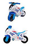Мотоцикл детский спортивный Технок 3, 5125, фото