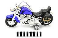 Мотоцикл в блистере с иннерцией, 1248, фото