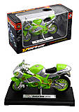 Мотоцикл инерционный, 3 цвета, HX779
