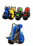Набор инерционных мотоциклов, 4 цвета, 606-12, купить
