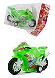 Мотоцикл инерционный, 6 цветов, 399-132, фото