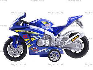 Инерционный мотоцикл Callop Thunder, синий, 8235, купить