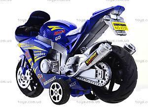 Инерционный мотоцикл Callop Thunder, синий, 8235, фото