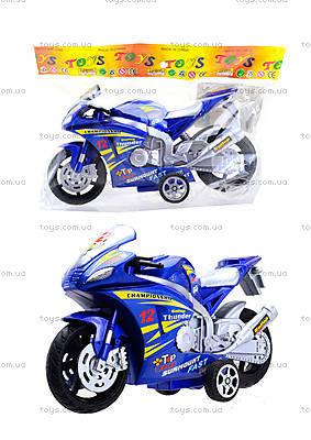 Инерционный мотоцикл Callop Thunder, синий, 8235