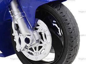Игрушечный инерционный мотоцикл, 3375, фото