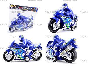 Игрушечный инерционный мотоцикл, 3375