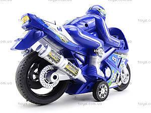 Игрушечный инерционный мотоцикл, 3375, игрушки