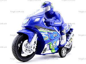 Игрушечный инерционный мотоцикл, 3375, детские игрушки