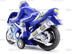 Игрушечный инерционный мотоцикл, 3375, магазин игрушек
