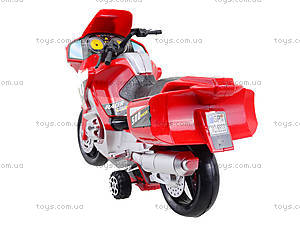 Инерционный спортивный мотоцикл для детей, 6698, игрушки