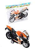 Мотоцикл инерционный игрушечный, 607, отзывы