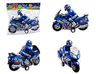 Игрушечный инерционный «Мотоцикл», 8239, купить
