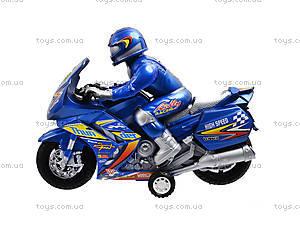Игрушечный инерционный «Мотоцикл», 8239, детские игрушки