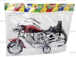 Мотоцикл инерционный для детей, 1242, фото